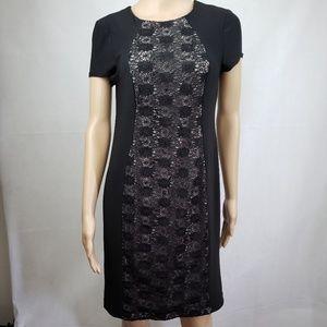 🔴SALE🔴 R&M Richards Petite Black Dress Size 8P